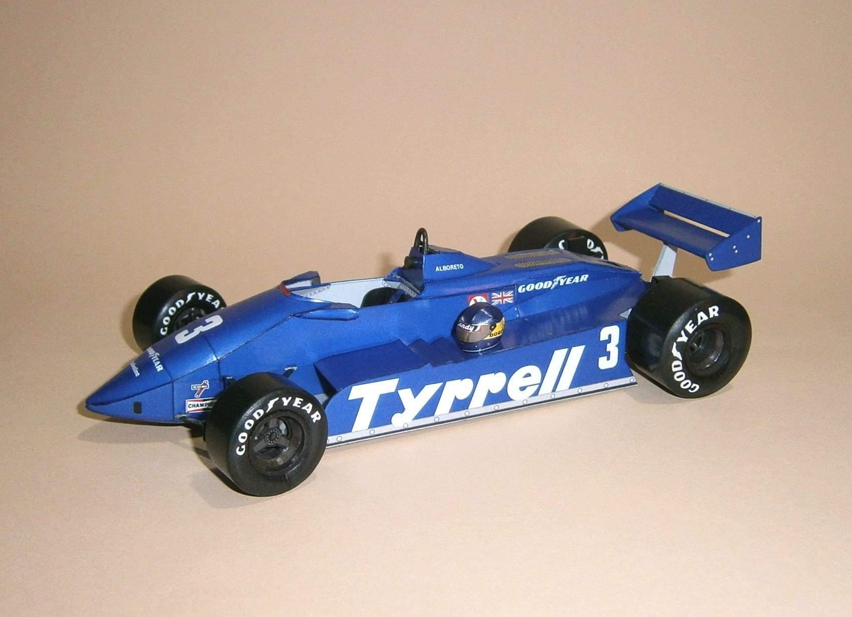 Tyrrell 011 - M.Alboreto, GP Brazil 1982
