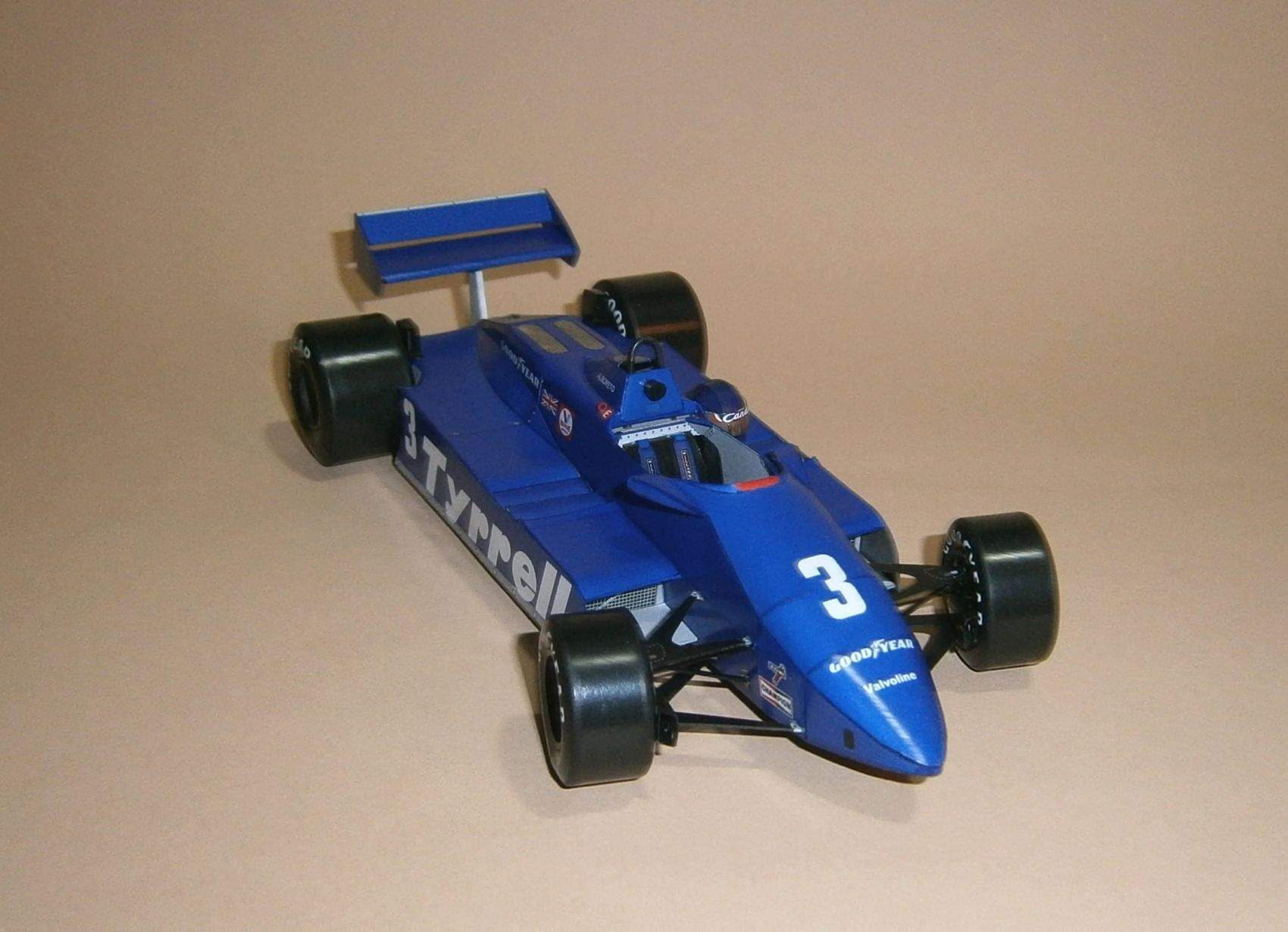 Tyrrell 011 - M.Alboreto, GP Jacarepagua 1982