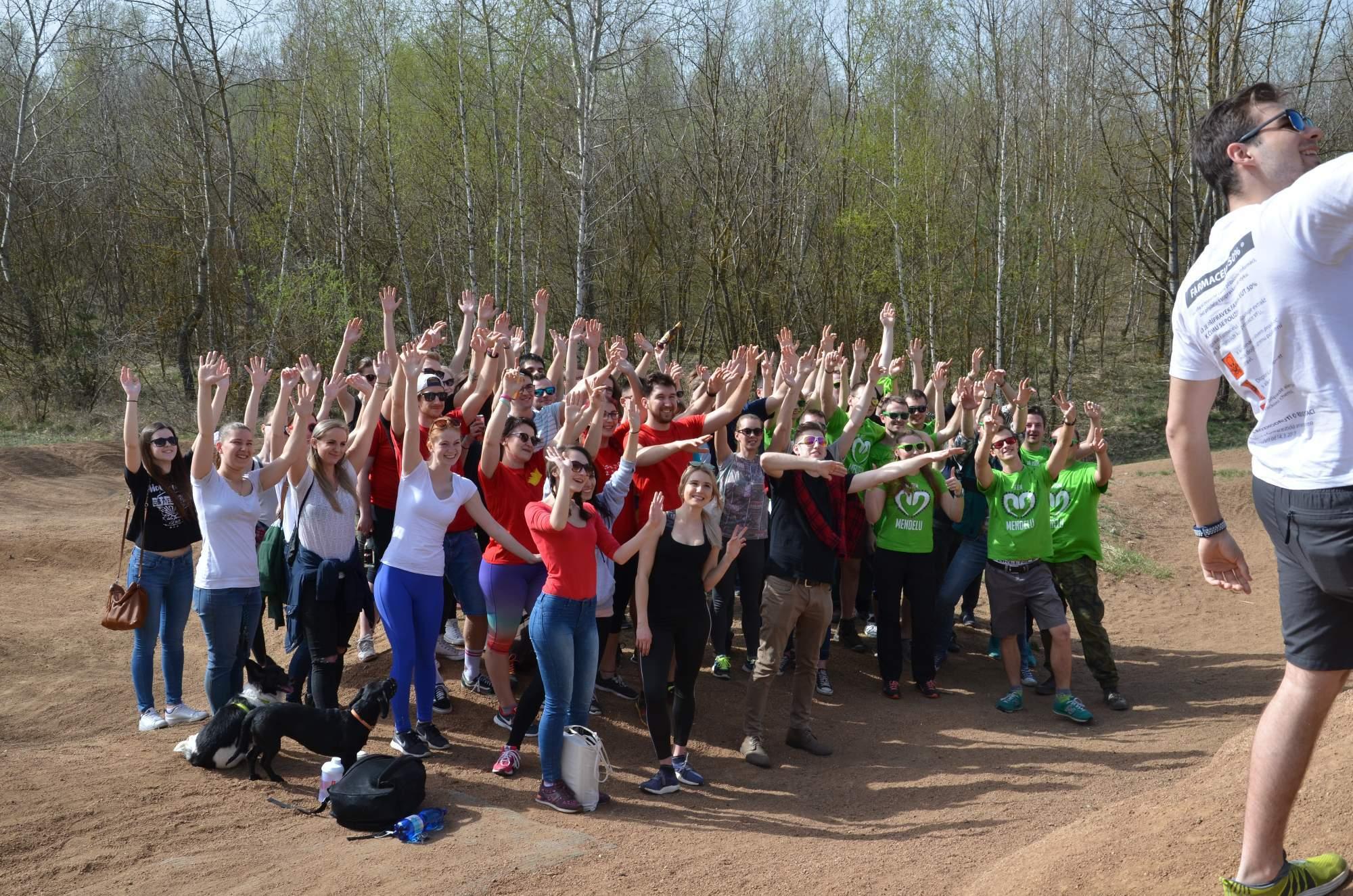 Studentské Odpadkobraní spojuje studenty z brněnských univerzit. FOTO: Kamila Lorenzová