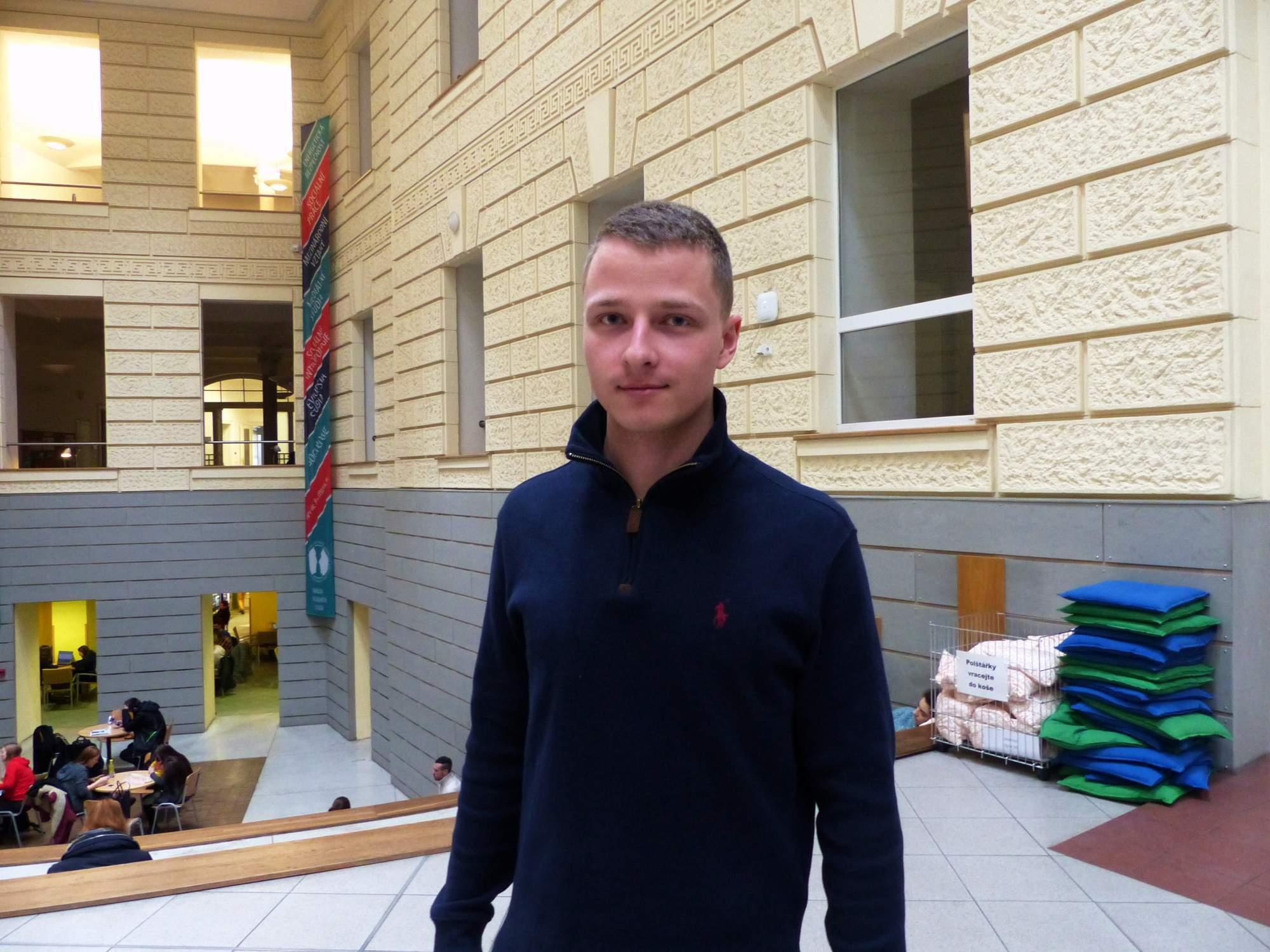 Michael Bouška. Foto: Martina Hykšová