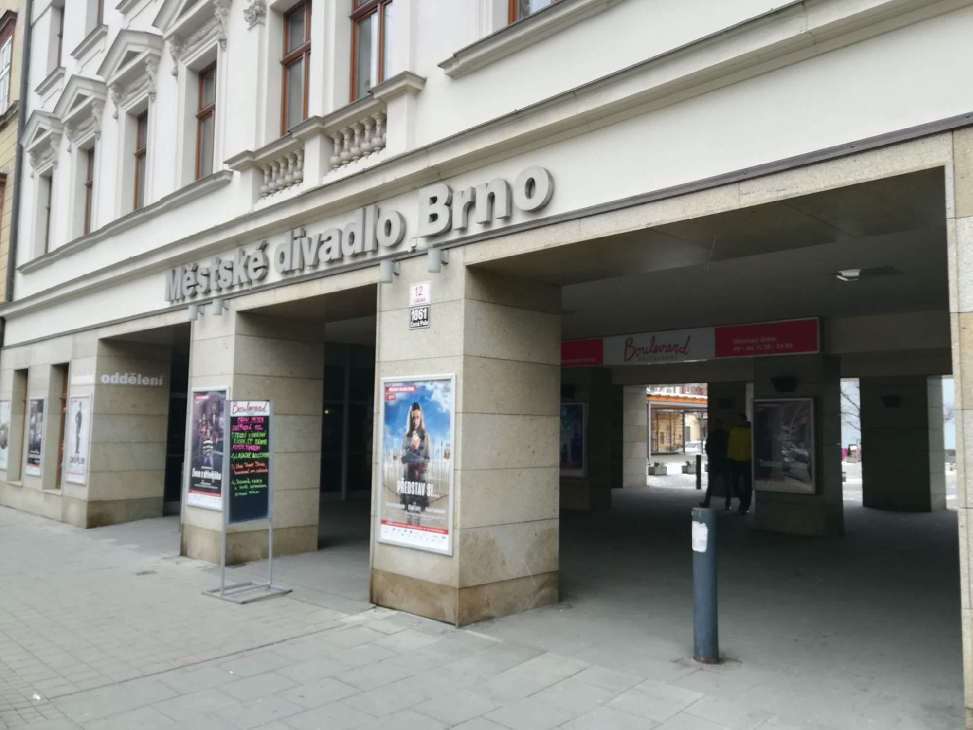 ilustrační fotografie- Městské divadlo Brno