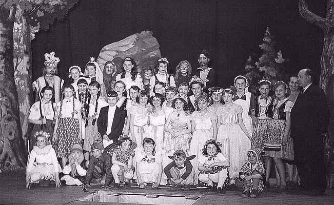 Společný snímek po představení
