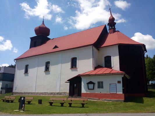 Malá Úpa , kostel