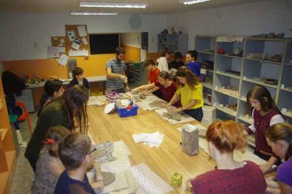 První pátek párty - Keramika