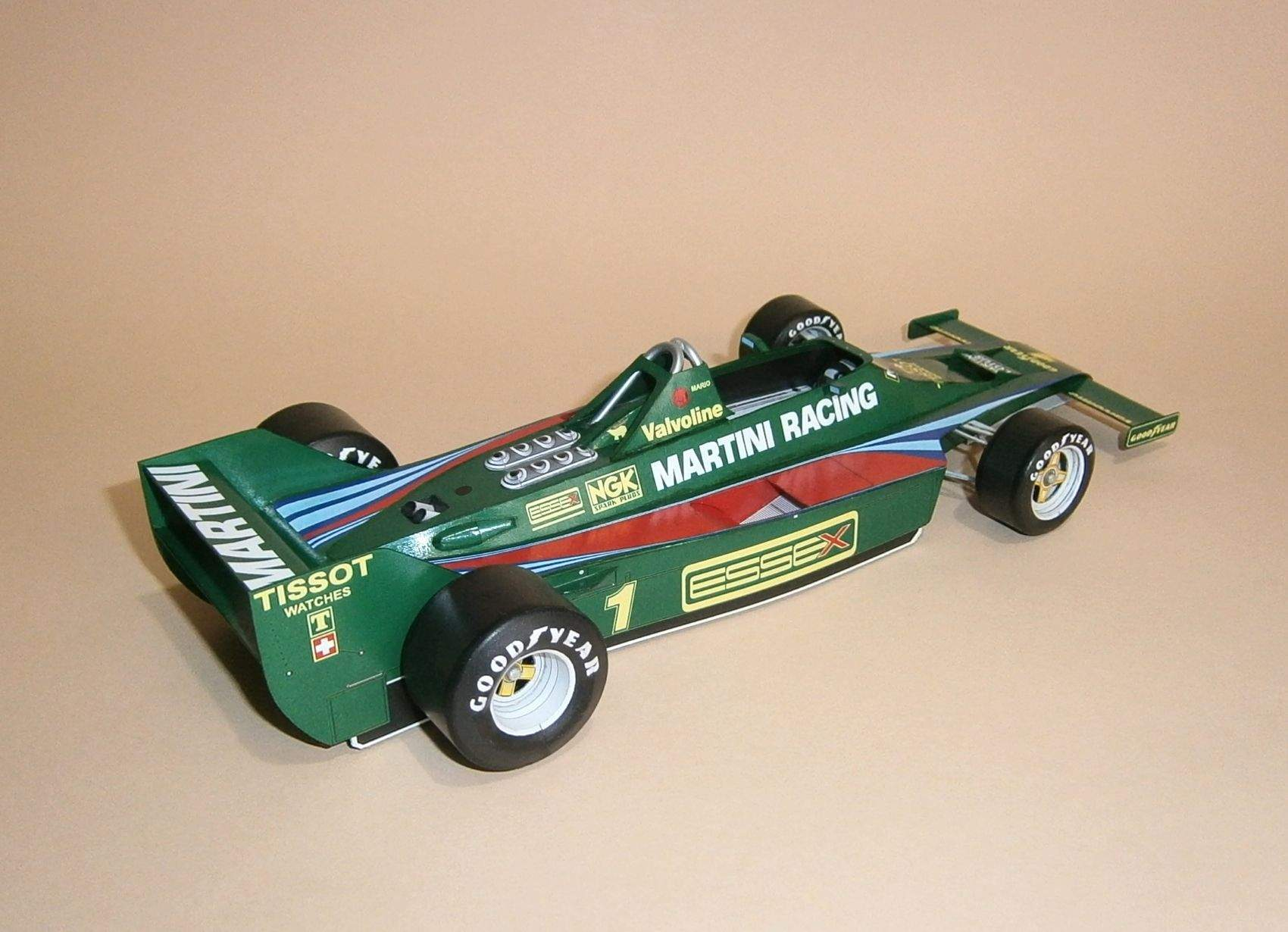 Lotus 80 - M.Andrreti, GP French 1979