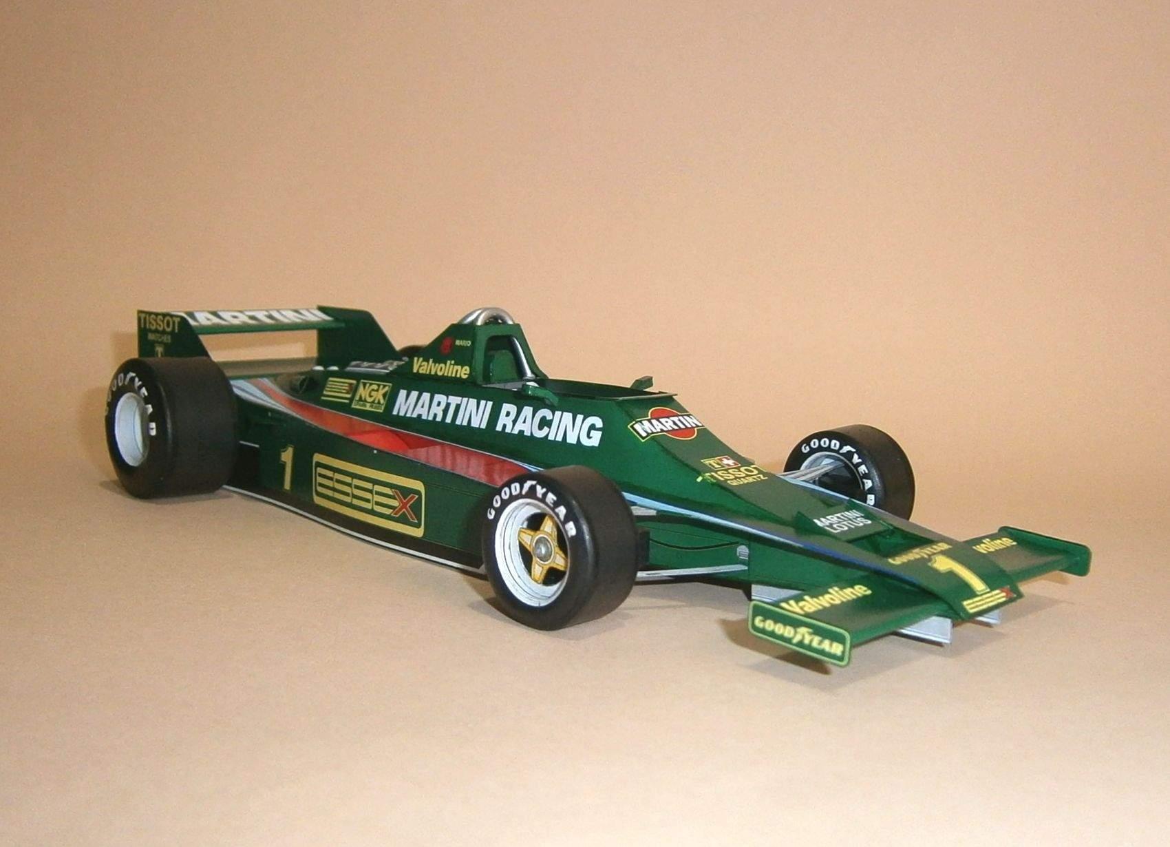 Lotus 80 - M.Andrreti, GP French 1979