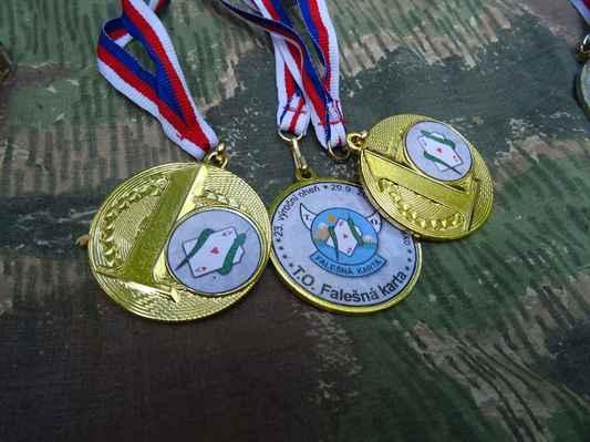 Dětský medaile...