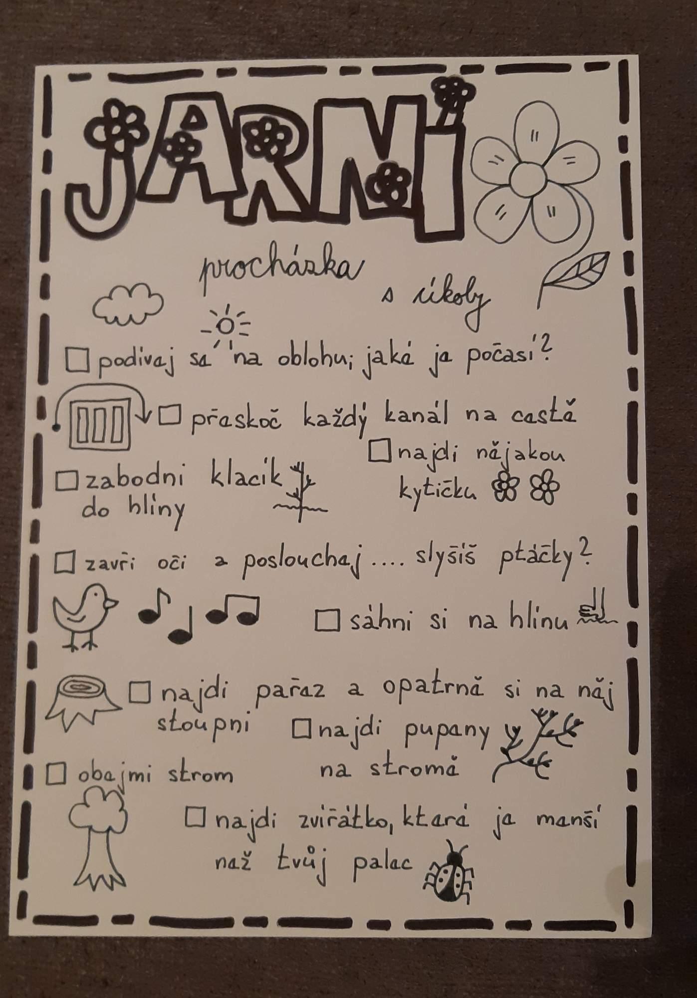jarní procházka s úkoly 18. 3. 2019 – mateřská škola trnkovecká – album na  Rajčeti