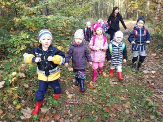 Podzim - Lesňáček (oranžová třída)